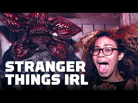 The Stranger Things Halloween Maze Is Terrifying - UCKy1dAqELo0zrOtPkf0eTMw