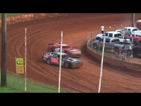 Modified Street at Winder Barrow Speedway July 3rd 2021 - dirt track racing video image