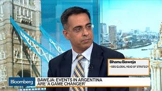 Argentina Default Risk Rising, Not Inevitable: UBS's Baweja