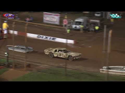 Historic Dixie Speedway brings you their Wild & Crazy Waterless Boat Race from 06/26/2021 - dirt track racing video image