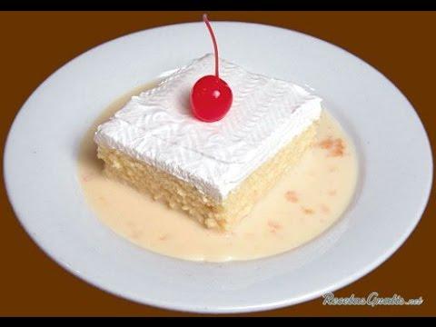 Como Hacer un Delicioso Postre Tres Leches - Hogar Tv  por Juan Gonzalo Angel - UCkjY3g9d1ypLHbPvXzxybVg