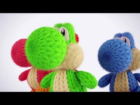 Yoshi's Woolly World - Unboxing Yoshis Made of Yarn - UCKy1dAqELo0zrOtPkf0eTMw