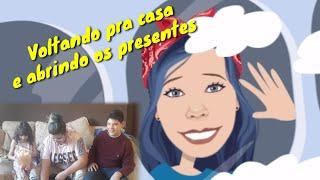 VOLTANDO PRA CASA E ABRINDO PRESENTES | RETURNING HOME AND OPENING GIFTS