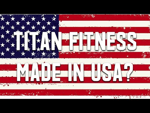 Titan Fitness Barbell Made in the USA? Blues City Bar Review - UCNfwT9xv00lNZ7P6J6YhjrQ