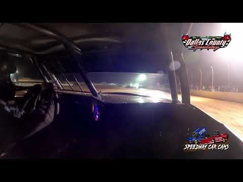 #7 Steve lourenco - Pure Stock - 8-13-2021 Dallas County Speedway - In Car Camera - dirt track racing video image