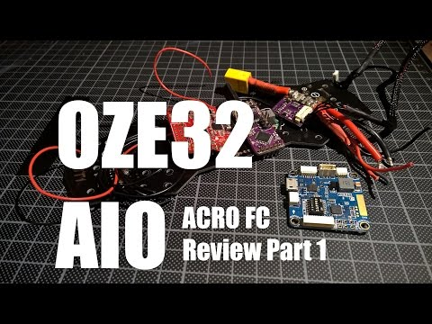 Flip32 AIO v1.0 (Naze32 All-In-One Flight Controller) - Review Part 1 - UCMRpMIts6jyvjGH1MLLdf6A