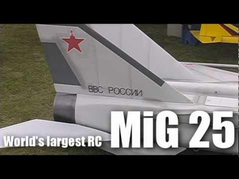 World's largest MiG 25 RC plane flies again - UCQ2sg7vS7JkxKwtZuFZzn-g