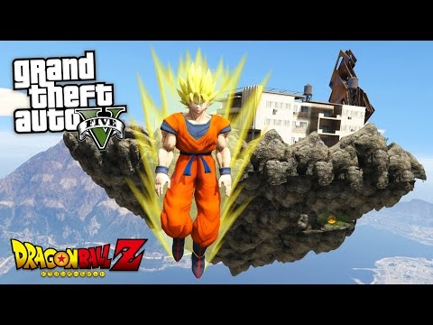 "GTA 5 Mods - DRAGON BALL Z ""SUPER SAIYAN GOKU"" MOD!! GTA 5 Dragon Ball Z Mod! (GTA 5 Mods Gameplay) - UC2wKfjlioOCLP4xQMOWNcgg"