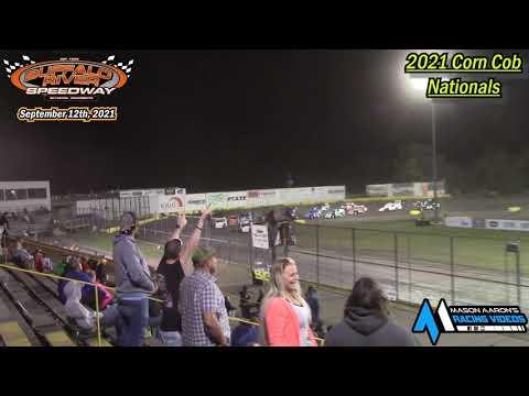Buffalo River Speedway IMCA Modified A-Main (2021 Corn Cob Nationals) (9/12/21) - dirt track racing video image