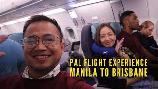 Philippine Airlines Flight Experience - Manila to Brisbane - PR 221 - Airbus 321
