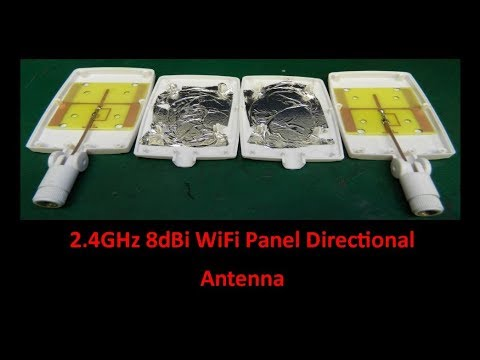 2 4GHz 8dBi WiFi Panel Directional Antenna - UCHqwzhcFOsoFFh33Uy8rAgQ