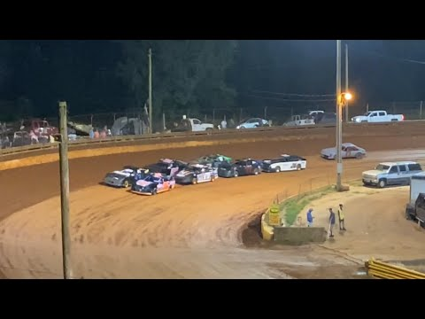 8/20/2021 Stock 4 Lavonia Speedway - dirt track racing video image