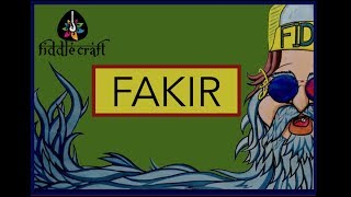 Fakir - fiddlecraft , Classical