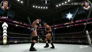 Triple h vs wade barrett