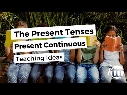English Grammar - Present Continuous - Teaching Ideas 2