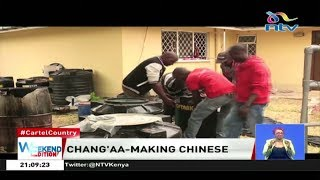 Chinese nationals arrested for illegal brewing have no work permit