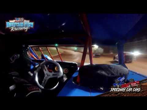 #87 Josh Holt - Mini Late Model - 9-11-21 Mountain View Raceway - In-Car Camera - dirt track racing video image