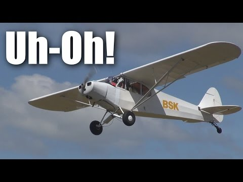 Scary full-sized Piper Cub  takeoffs and landings at NZTO - UCQ2sg7vS7JkxKwtZuFZzn-g