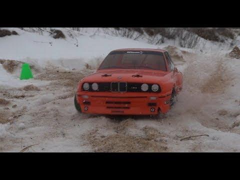 НЕРЕАЛЬНОЕ зимнее ралли на BMW M3 E30 (как Кларксон) - UCX2-frpuBe3e99K7lDQxT7Q