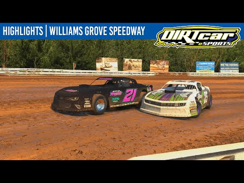 DIRTcar eSports Pro Stocks at Williams Grove Speedway May 19, 2021 | HIGHLIGHTS - dirt track racing video image