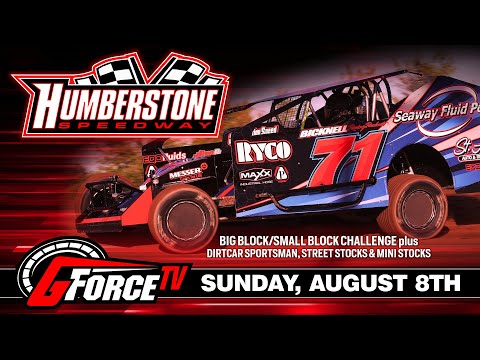 8/08/2021-Humberstone Speedway - dirt track racing video image