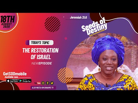 Dr Becky Paul-Enenche - SEEDS OF DESTINY - TUESDAY AUGUST 18, 2020