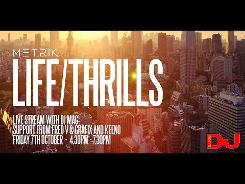 Metrik , Fred V & Grafix & Keeno LIVE from DJ Mag HQ - UCJEKlziKdxoos1qbptjGgLg