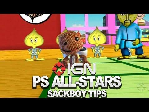 Seth Killian's Sackboy Walkthrough - PlayStation All-Stars - UCKy1dAqELo0zrOtPkf0eTMw