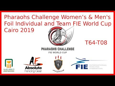 Pharaohs Challenge 2019 - Foil World Cup