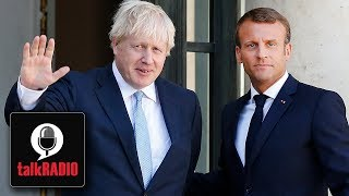 President Macron warns Boris Johnson not to expect major changes to Brexit deal
