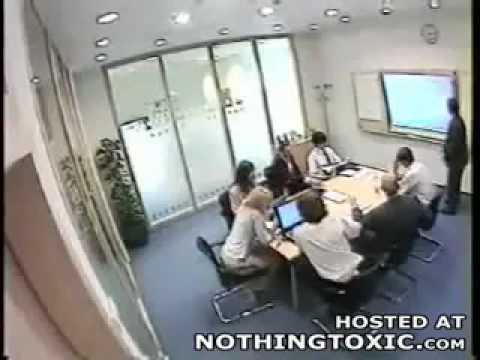 Office Fight HA HA