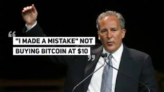 BITCOIN HATER PETER SCHIFF: 'I Made a Mistake' Not Buying Bitcoin at $10