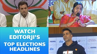 Top Headlines On 8th May 2019 #LokSabhaElections2019
