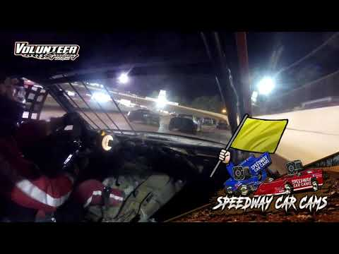 #44 Scott Velez - FWD - 9-25-21 Volunteer Speedway - In-Car Camera - dirt track racing video image