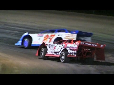 UMP Late Model Feature at Mount Pleasant on 5-19-17 - dirt track racing video image