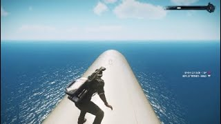 Where do the passenger planes go in Just Cause 4