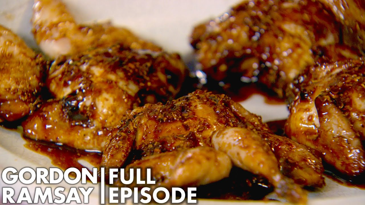 Pomegranate Molasses Marinated Quail With Gordon Ramsay   Home Cooking FULL EPISODE