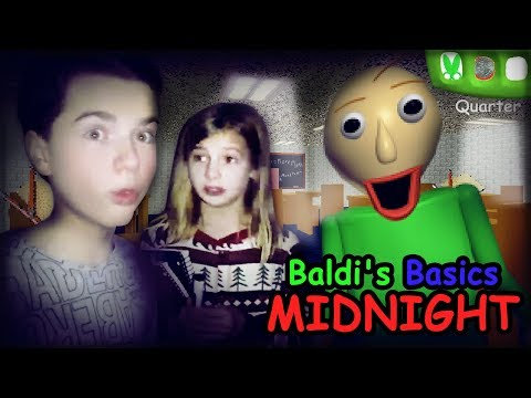 Don't PLAY Baldi's Basics At MIDNIGHT!! Baldis Basics IN REAL LIFE With That YouTub3 Family! - UCUvEpOhD1BYa6J2dPZbEtTw