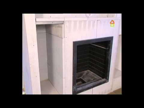 How we made fireplace in Russia