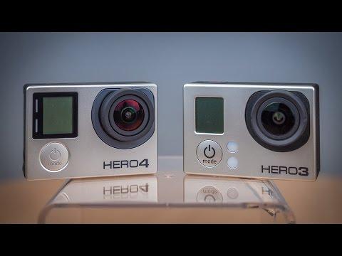 GoPro #21 - Hero3 und Hero4 im Vergleich - default