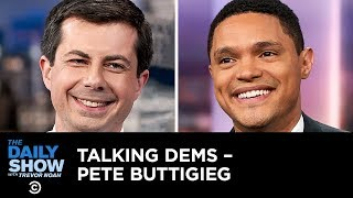 Talking Dems - Pete Buttigieg's Approach to Reparations and Fixing the Economy   The Daily Show