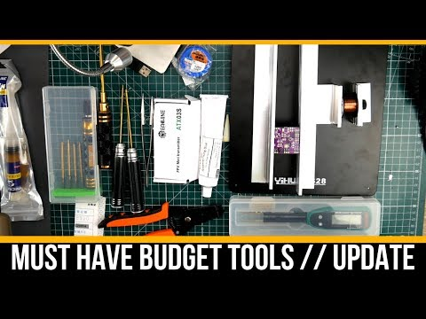 Great Budget Tools and SMD Repair Tools // Update Video - UC3c9WhUvKv2eoqZNSqAGQXg