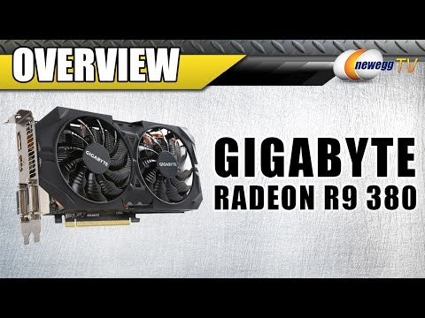 GIGABYTE Radeon R9 380 Video Card Overview - Newegg TV - UCJ1rSlahM7TYWGxEscL0g7Q