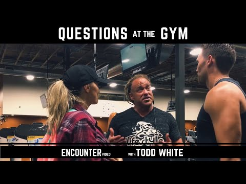 Todd White - Questions and Answers at the Gym