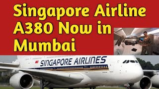 Singapore Airlines to Launch A380 cabins from Mumbai
