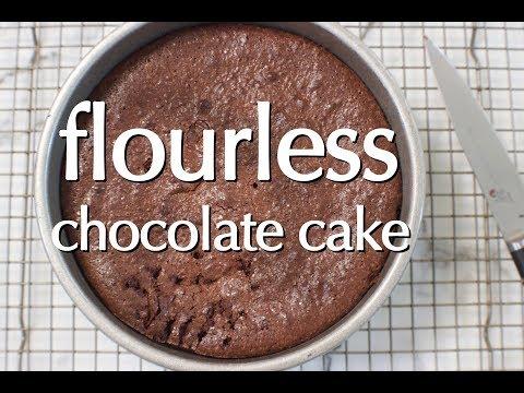 Dinner Party Tonight Shorts: Flourless Chocolate Cake