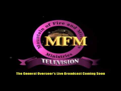 MFM SPECIAL MANNA WATER SERVICE WEDNESDAY JULY 29TH 2020