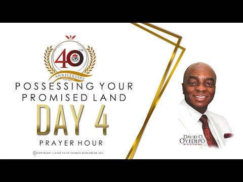 DOMI STREAM: DAY 4  40TH ANNIVERSARY  PRAYER HOUR  5, MAY 2021.