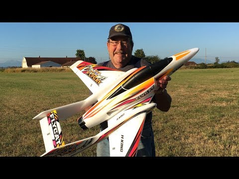Wild Bill's Maiden Flight Attempt Off Grass With H-King Flycat 70mm EDF Jet - UCJ5YzMVKEcFBUk1llIAqK3A