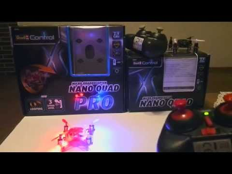 Micro Quadrocopter/Nano Quad Pro von Revell - UCWZUuREQxalxywWEL6Tbilw